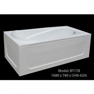 Bồn tắm nằm dài RCA 1778 dài 1 mét 7