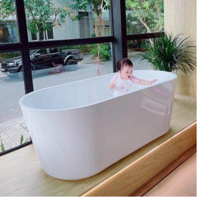 Bồn tắm cong 1m7x80